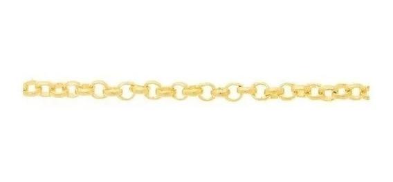 Cordão Folheado A Ouro Fio Português - Tam.50 530610
