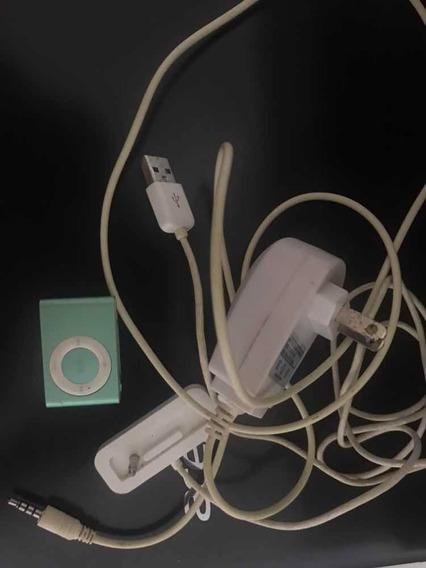 iPod Shuffle De Segunda Geração Completo 1 Gb