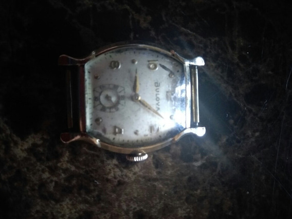Reloj Bulova Automático Chapa 10 Kt, Años 40s