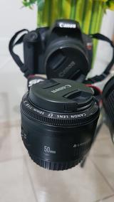 Canon Ef 50mm F/1.8 Semi-nova