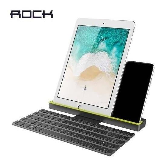 Teclado Bluetooth Portátil Da Rock P Computador Smartphones