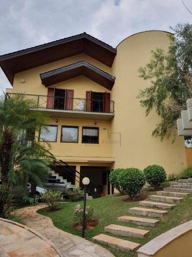 Casa À Venda, 546 M² Por R$ 1.450.000,00 - Condomínio Vivendas Do Lago - Sorocaba/sp - Ca2129