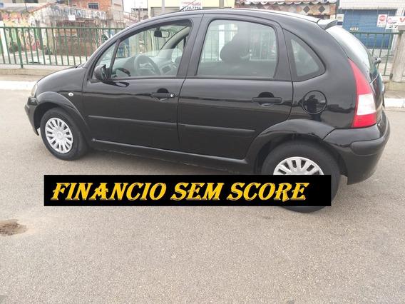 Citroen C3 2008 Completo Financiamento Com Score Baixo