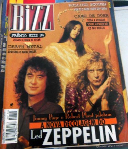 Revista Bizz 113 - Dez 1994 - Led Zeppelin Rolling Stones