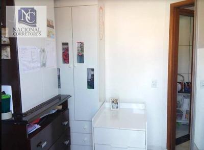 Cobertura Com 2 Dormitórios À Venda, 76 M² Por R$ 250.000 - Jardim Utinga - Santo André/sp - Co3768