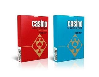 Cartas Naipes Casino Poker X54