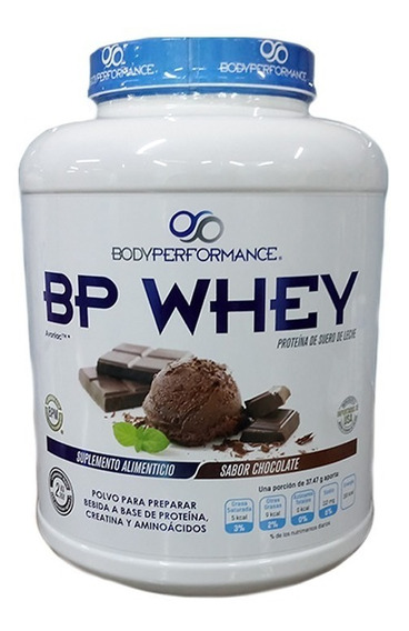 Proteina Body Performance Bp Whey 5 Lb Sabor Chocolate