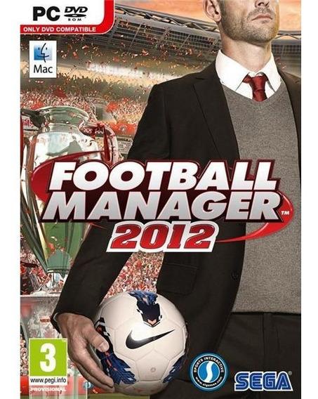 Football Manager 2012 Pc Mac Português Disco Digital