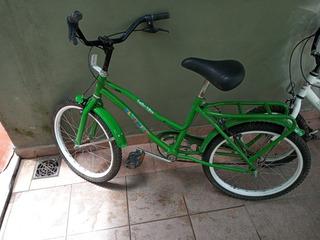 Bicicleta Rodado 20 Blue Bird Verd Poco Usada En Buen Estado