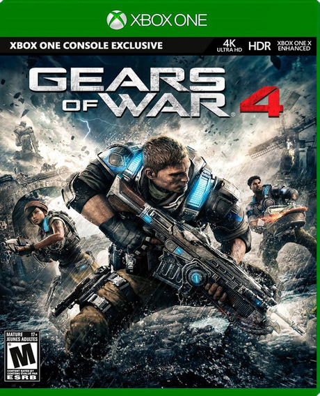 ..:: Gears Of War 4 En 4k ::.. Para X Box One Game Center