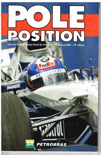 Revista Guia Gp Brasil Pole Position Número 19 Ano 2004