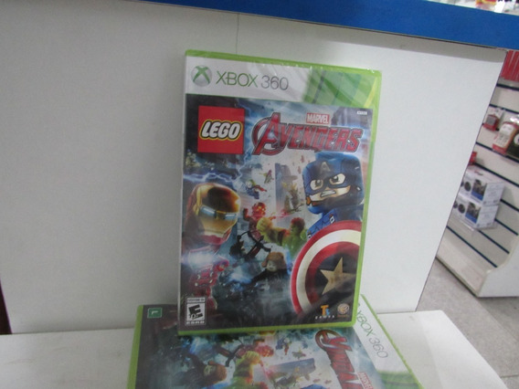 Lego Avengers Marvel Xbox 360 Mídia Física Novo Lacrado