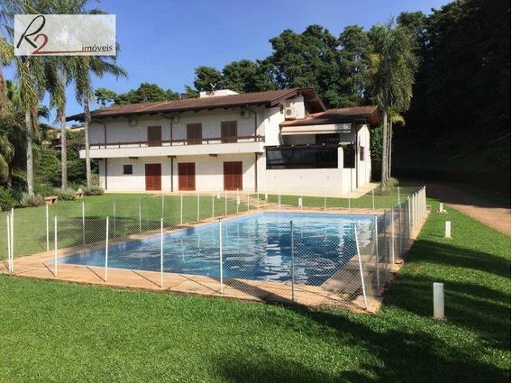 Casa Para Locação, Condomínio Chácaras Alto Da Nova Campinas. - Ca0354