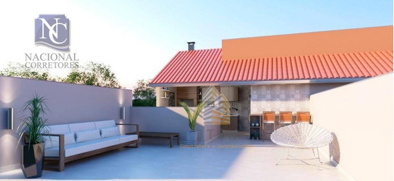 Apartamento Com 2 Dormitórios À Venda, 53 M² Por R$ 235.000,00 - Jardim Utinga - Santo André/sp - Ap8292