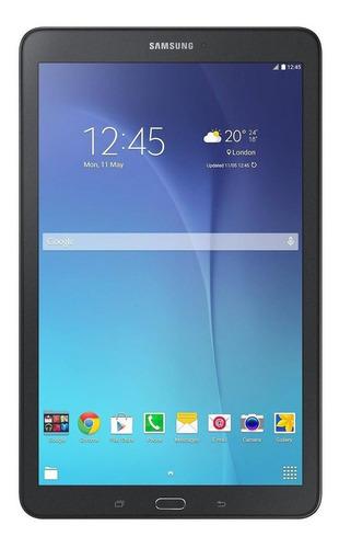 """Imagen 1 de 4 de Tablet  Samsung Galaxy Tab E 2015 SM-T560 9.6"""" 16GB black con 1.5GB de memoria RAM"""