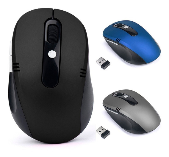 Mouse Óptico Sem Fio Usb Wi-fi Para Notebook E Pc (original)