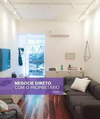 Lindo Apartamento 2 Quartos, Reformado, À Venda Em Copacabana - Ap0417