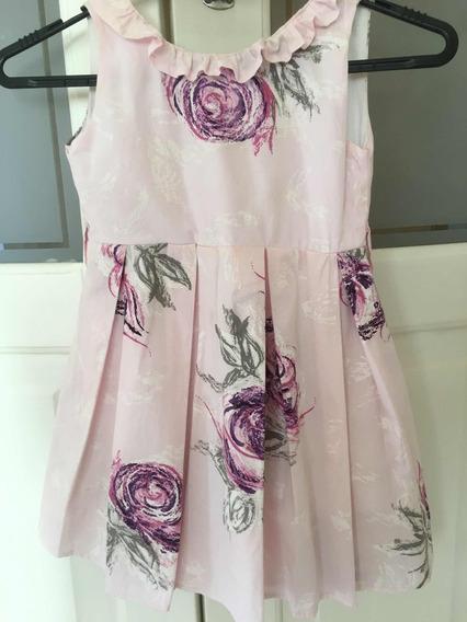Vestido Rosa Estampado