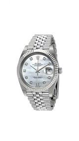 Relógio Rolex Oyster Perpetual Datejust Prata