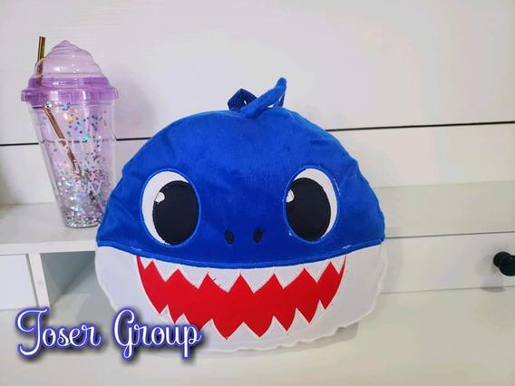 Mochila Tipo Cojin Baby Shark