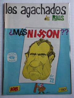 Los Agachados De Rius # 108 Editorial Posada Diciembre 1972