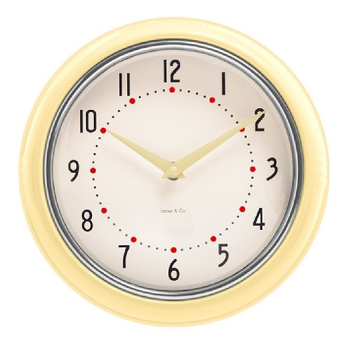 Relojdeparedmetálico «retrovintage» - La Aldea