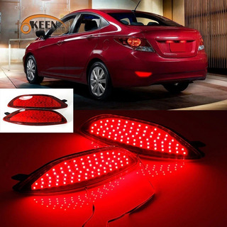 Hyundai Accent I25 Luz Roja Defensa Led Roja Luz Stop