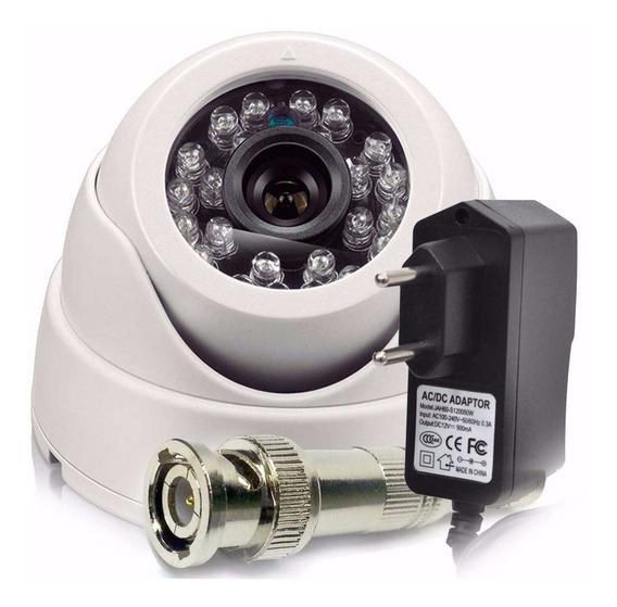 Camera Segurança Dome 1200 Linhas Visão Noturna