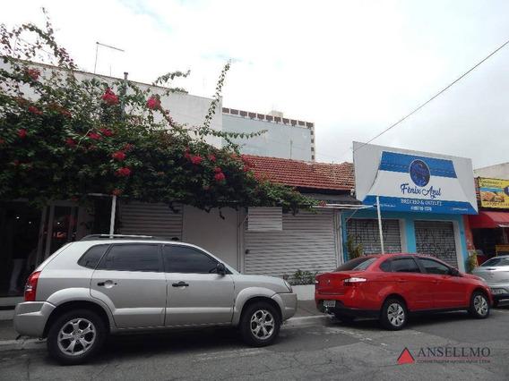 Salão Para Alugar, 105 M² Por R$ 5.000/mês - Centro - São Bernardo Do Campo/sp - Sl0350