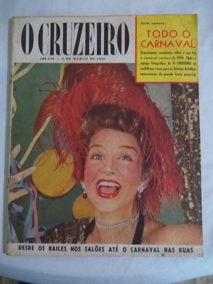 Revista O Cruzeiro 1956 Goiás Carnaval S. Paulo Propagandas