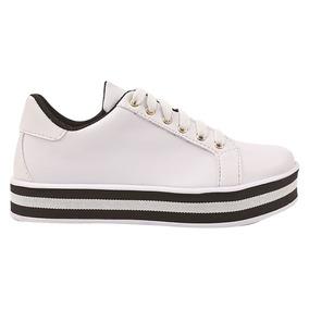 3f120926ae Sapatos Femininos - Sapatênis Branco no Mercado Livre Brasil