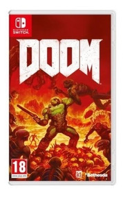 Doom - Nintendo Switch - Novo - Mídia Física - Lacrado