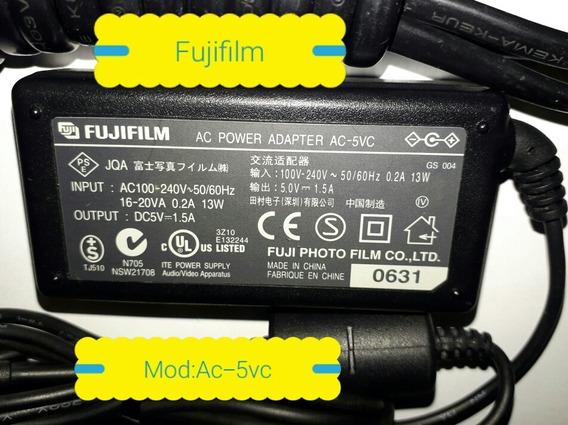 Fonte Fujifilm Ac-5vc Ac Adapter Output Dc5v 1.5a Original