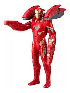 Avengers Mision Tech Iron Man Figura De Accion 34 Cm