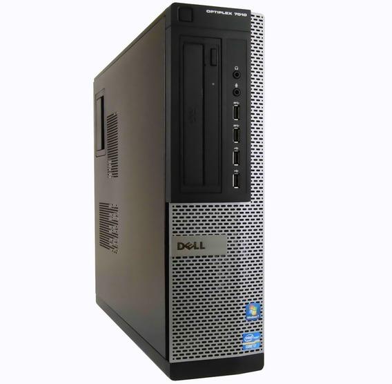 Cpu Dell Optiplex 7010 Dt I3 3240 3.40 4gb Hd 250gb Nfe