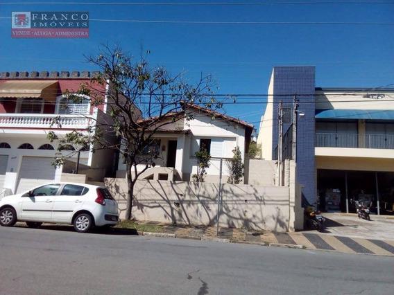 Casa Comercial Com 2 Dormitórios Para Alugar, 86 M² Por R$ 1.300/mês - Jardim Santo Antônio - Valinhos/sp - Ca0302
