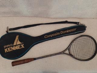 Raqueta Y Funda Squash Pro Kennex Negra Mid-size Poco Uso