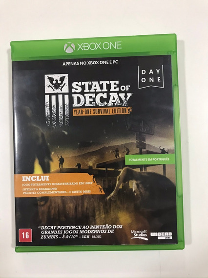 State Of Decay - Xbox One (mídia Física)