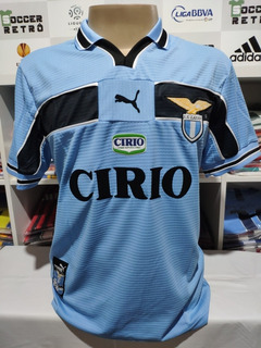 Camisa Lazio Home 1999-00 Veron 23 Serie A À Pronta Entrega