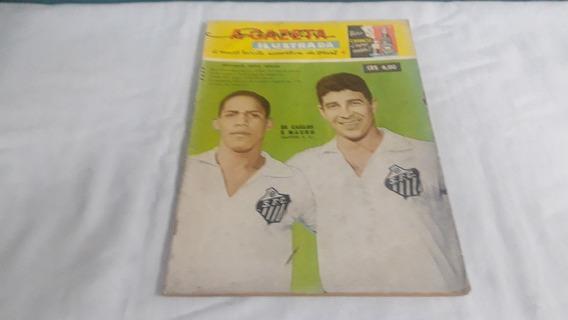 Gazeta Esportiva Ilustrada 166 Ago/60 Corinthians/portugues