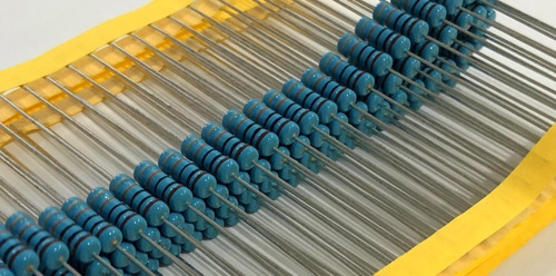 Resistor Metal Film 10r 2w 5% - 100 Peças