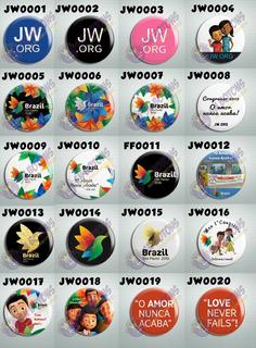 10 Botons Jw Org Testemunha Jeova Congresso Internacional