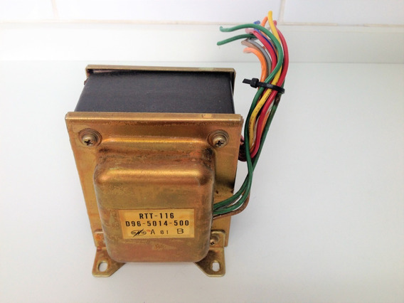 Transformador Gravador Rolo Pioneer Rt-707 P. Number Rtt-116