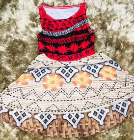 Vestido Infantil Moana 3