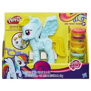 Play-doh Pony Rainbow Dash Peinados De Colores B0011 Hasbro