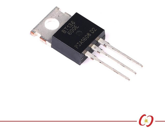 Triac Bt136 - 600v / 25a - To-220