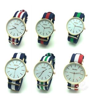 Reloj Pulsera Unisex Oferta X 10 Unidades El Mejor Precio