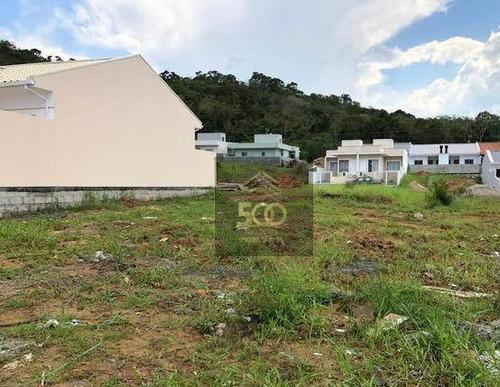 Terreno À Venda, 200 M² Por R$ 128.000,00 - Bela Vista - Palhoça/sc - Te0035