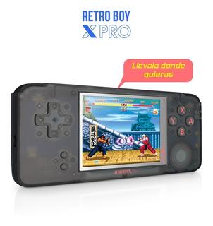 Consola Portatil Retroboy X Pro Level Up Original 2450 Juegos Multi Consola Emuladora Gtia Ext