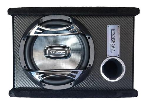 Imagen 1 de 7 de Subwoofer Potenciado Tx Audio 1200w 12 Pulgadas Caja Ductada